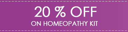 Healthmug 20% Off on Homeopathy Kits