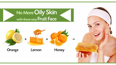 No More Oily Skin With These Easy Fruit Face Packs