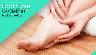 Foot Care Guidelines For Diabetics
