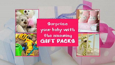 Surprise your baby with the amazing gift packs