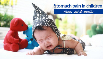 What Causes stomach pain in children?