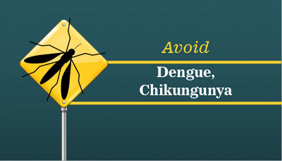 Step Guide to avoid Dengue and Chikungunya