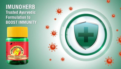 Dr. Vaidya's - IMUNOHERB: Trusted Ayurvedic Formulation to Boost Immunity