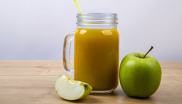 Soothe a sore throat with Apple cider vinegar