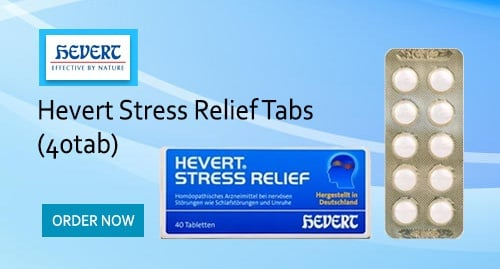 Hevert Stress Relief Tabs (40tab)